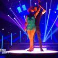 """Miguel-Angel Munoz et Fauve Hautot - Quatrième prime de """"Danse avec les stars 5"""" sur TF1. Samedi 18 octobre 2014."""