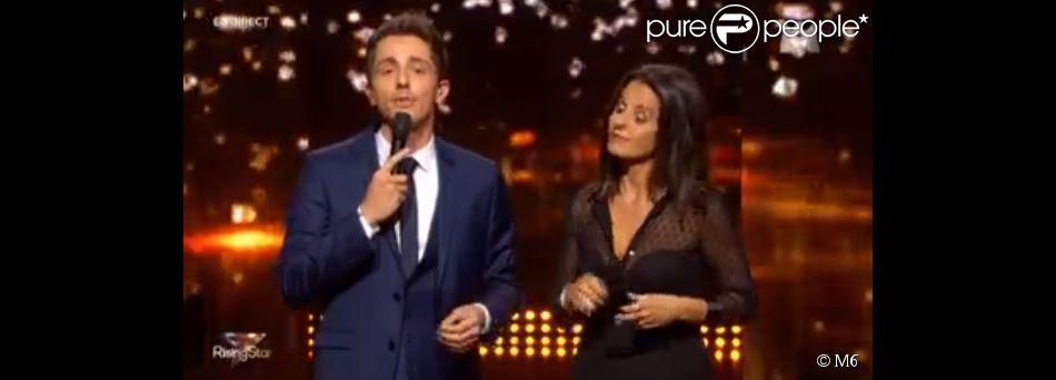 """Guillaume Pley et Faustine Bollaert - Quatrième prime de """"Rising Star ..."""