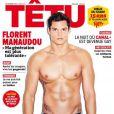 Florent Manaudou en une de Têtu du mois de novembre 2014
