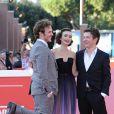 """Sam Claflin, Lily Collins, Christian Ditter - Première du film """"Love Rosie"""" lors du festival du film de Rome 19 octobre 2014."""
