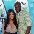 Khloe Kardashian et son ex Lamar Odom en 2011