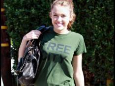 PHOTOS : Miley Cyrus prépare sa rentrée des classes...