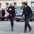 Heidi Klum et Vito Schnabel vont visiter la FIAC au Grand Palais à Paris, le 23 octobre 2014.