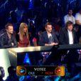Le jury  dans Rising Star, le jeudi 23 octobre 2014, sur M6