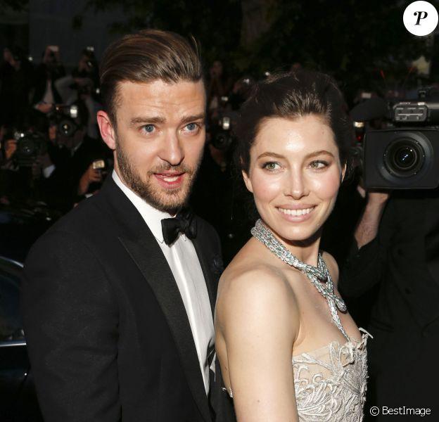 Jessica Biel et Justin Timberlake lors du 66e festival du film de Cannes, le 19 mai 2013.