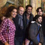 Laurie Cholewa et Vincent Cerutti affrontent leurs peurs au Manoir de Paris