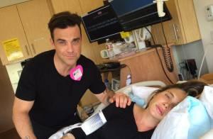 Robbie Williams preque papa: Sa femme Ayda accouche, il partage tout en direct !