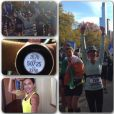 Teri Hatcher, fière d'avoir terminé le marathon de New York, le 2 novembre 2014