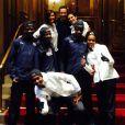 Teri Hatcher a pris part au marathon de New York au profit de l'association J/P HRO, le 2 novembre 2014