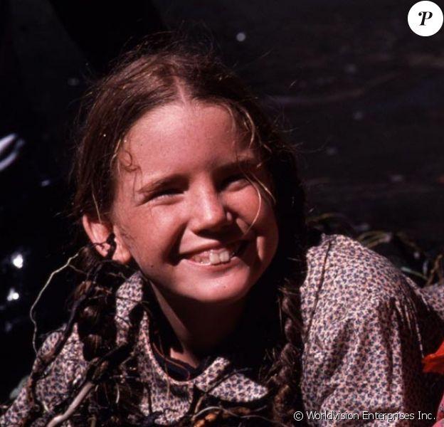 """Melissa Gilbert dans le rôle de Laura dans """"La petite maison dans la prairie"""", une série créée en 1974."""