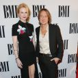 Keith Urban et Nicole Kidman lors des BMI Country Awards à Nashville, le 4 novembre 2014.
