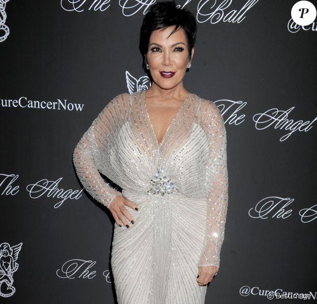 """Kris Jenner - People au """"Angel Ball 2014"""" à New York. Le 20 octobre 2014"""