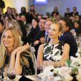 Lauren Santo Domingo, Karlie Kloss et Lil Buck lors des WSJ Innovator Awards au musée d'art moderne, à New York. Le 5 novembre 2014.