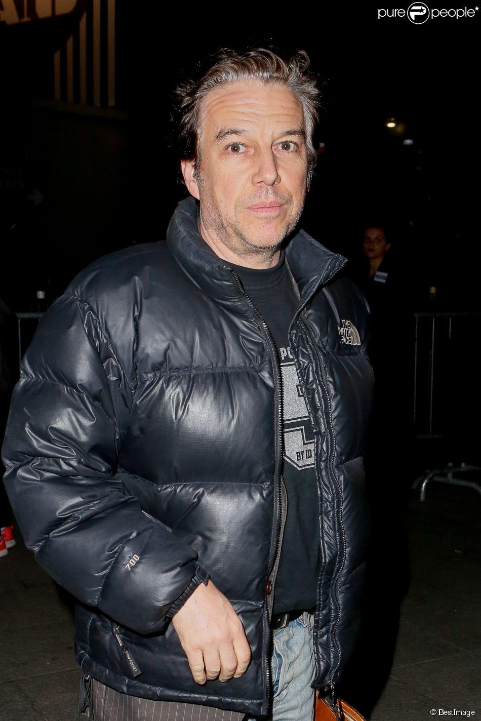Exclusif - Philippe Vandel au Palais des Sports à Paris le 31 octobre 2014.