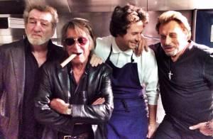 Johnny Hallyday : Dernier dîner avec les Vieilles Canailles et les copains