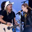 Bret Michaels en duo sur  Nothing to Lose  avec Miley Cyrus en 2010
