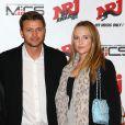 Gareth Wittstock, frère de la princesse Charlene de Monaco, et sa compagne Roisin Galvin lors des NRJ DJ Awards au Grimaldi Forum à Monaco, le 12 novembre 2014.