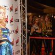 Paris Hilton lors des NRJ DJ Music Awards le 12 novembre 2014 à Monaco.