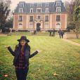 Karima Charni au chateau de Dammarie-les-Lys dix ans plus tard, le 16 novembre 2014