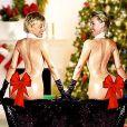 La carte de voeux parodique d'Ellen DeGeneres et sa femme Portia De Rossi.