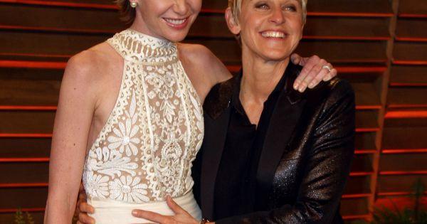 Ellen degeneres portia de rossi la soir e vanity fair for Ellen degeneres and portia de rossi story