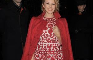 Kylie Minogue : Sublime en vue des Fêtes, elle illumine Londres
