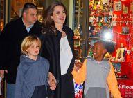 Angelina Jolie : Tout sourire, une maman en mode shopping avec Shiloh et Zahara