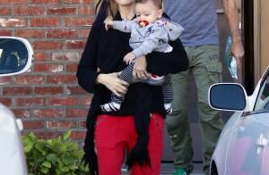 Gwen Stefani : Maman lookée et assortie à son craquant Apollo !