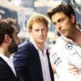 Le prince Harry lors du Grand Prix d'Abou Dhabi, le 23 novembre 2014