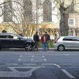 Exclu - Victoria Beckham et son chauffeur ont eu un accrochage en voiture à Londres le 2 mars 2013.