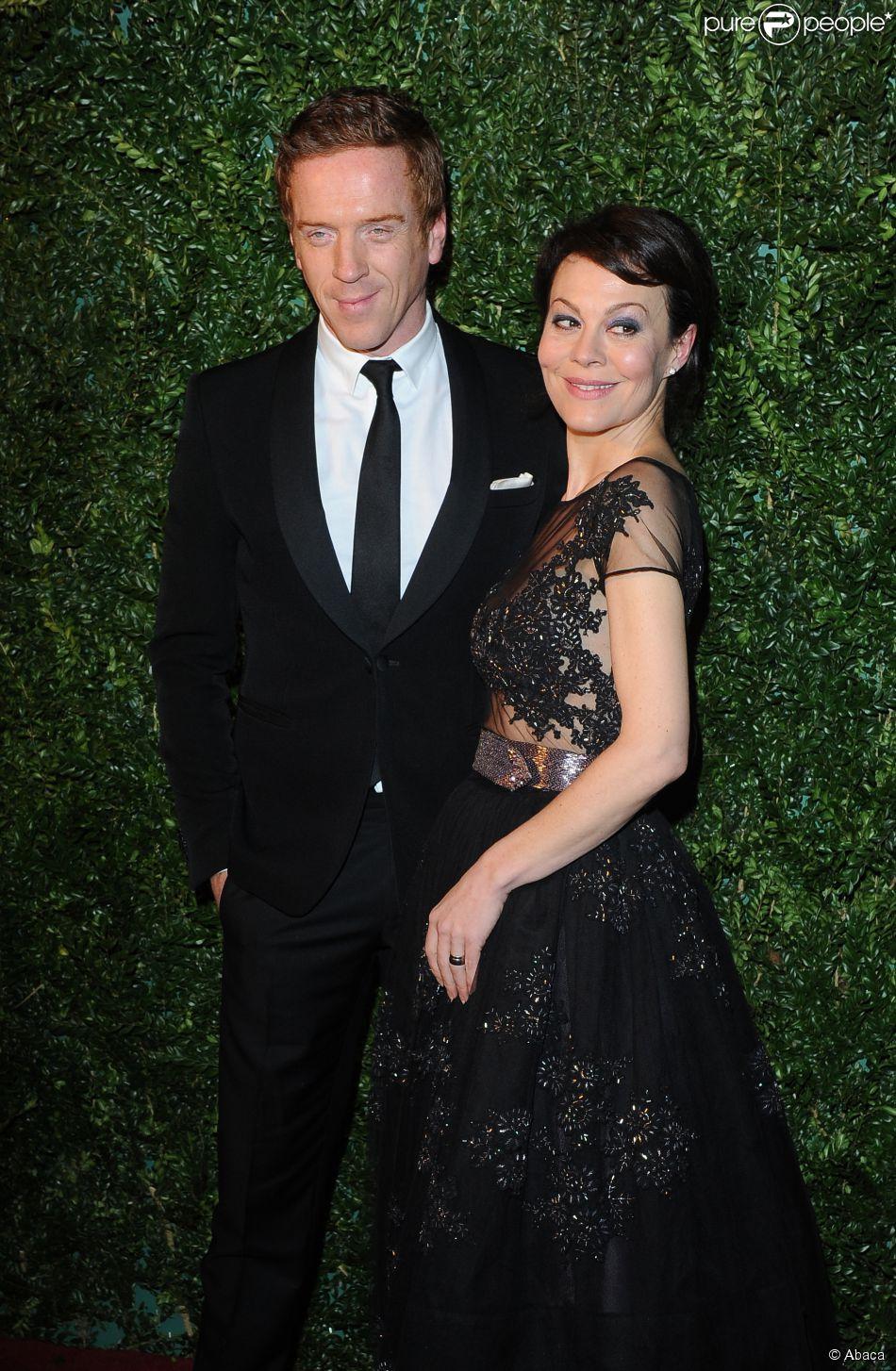 Damian Lewis couple