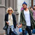 Zoë Kravitz et son petit ami Noah Becker à New York, le 15 mai 2014.