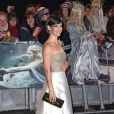"""Evangeline Lilly à la première du film """"The Hobbit: The Battle Of The Five Armies"""" à Londres, le 1er décembre 2014."""