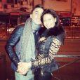 Nathalie et Vivian de Secret Story 8, le 17 octobre 2014 à Livry-Gargan.