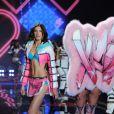 Jacquelyn Jablonski - Défilé Victoria's Secret à Londres, le 2 décembre 2014.