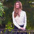 Camille Cerf, Miss France 2015, dans son portrait diffusé lors de la cérémonie officielle sur TF1, le samedi 6 décembre 2014.