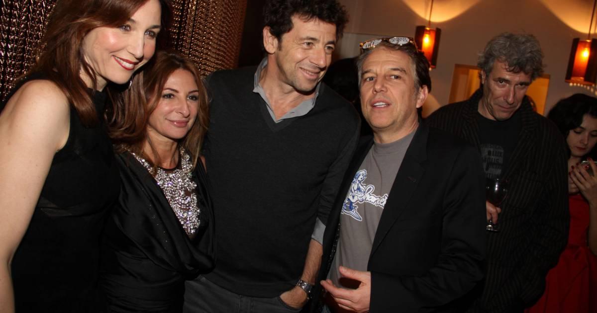 Patrick bruel et pauline lef vre soir e entre amis pour for Sarah guetta salon