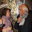 Irène Jacob et Gérard Darmon -pour les 1 an du salon de coiffure de Sarah Guetta le 8 décembre 2014