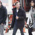 """Hunter Parrish sur le tournage de """"Still Alice'"""" à New York, le 5 mars 2014"""