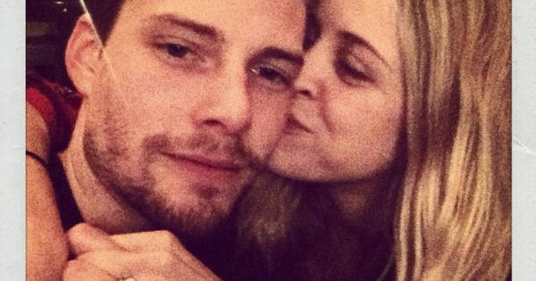 Hunter Parrish couple