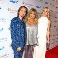 """Matthew Bellamy, Goldie Hawn et Kate Hudson à la soirée """"Love In For Kids"""" à Los Angeles, le 21 novembre 2014"""