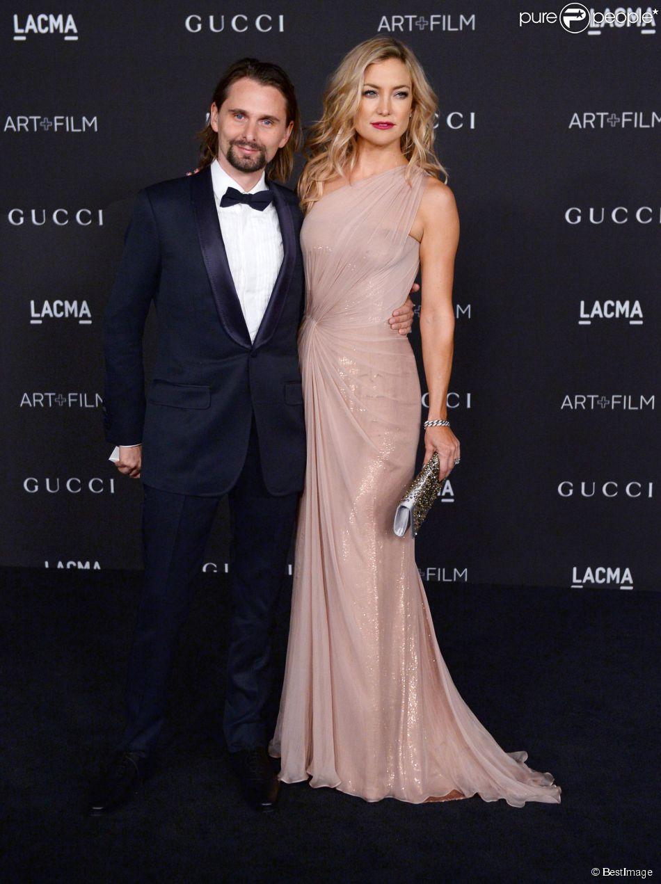 """Matthew Bellamy et Kate Hudson - Soirée """"LACMA Art + Film Gala"""" à Los Angeles le 1er novembre 2014."""