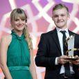 Benjamin Lutzke reçoit le prix du meilleur acteur des mains de Mélanie Laurent  -   Cérémonie   de clôture du 14e Festival International du Film de Marrakech, le 13 décembre 2014.