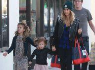 Jessica Alba : Shopping avec ses filles et retrouvailles avec Drew Barrymore