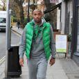 Thierry Henry dans les rues de Londres le 7 décembre 2011