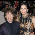 Mick Jagger et L'Wren Scott à New York, le 2 mai 2011.