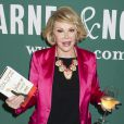 Joan Rivers en promo pour Diary of a Mad Diva à Barnes & Noble à New York, le 9 mai 2014