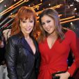 Hillary Scott of Lady Antebellum with Reba McEntire at the 2014 American Country Countdown Awards on FOX at the Music City Center on December 15, 2014 in Nashville, Tennessee, USA. Photo by Frank Micelotta/PictureGroup/ABACAPRESS.COM16/12/2014 - Nashville