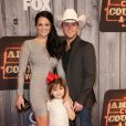 Justin Moore and Kate Moore and Ella Kole Moore attending the 2014 American Country Countdown Awards on FOX at the Music City Center on December 15, 2014 in Nashville, Tennessee, USA. Photo by Curtis Hilbun/AFF/ABACAPRESS.COM16/12/2014 - Nashville