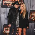 Jason Aldean and Brittany Kerr at the 2014 American Country Countdown Awards on FOX at the Music City Center on December 15, 2014 in Nashville, Tennessee, USA. Photo by Scott Kirkland/PictureGroup/ABACAPRESS.COM16/12/2014 - Nashville
